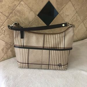 RALPH LAUREN Small Tan Brown Clutch/ Purse